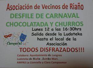 Fiesta de Carnaval en Riaño 2018