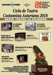 Jornadas de teatro costumbrista asturiano 2018