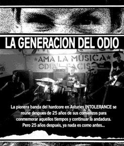 DocumentaLangreo: La generación del odio @ Nuevo Teatro de La Felguera | Langreo | Principado de Asturias | España