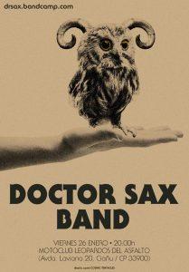 Concierto: Doctor Sax @ Sede Leopardos del Asfalto   Langreo   Principado de Asturias   España