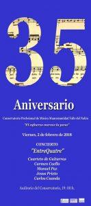 Concierto: Entrequatre @ Conservatorio del Nalón | Langreo | Principado de Asturias | España