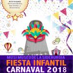 Fiesta infantil carnaval 2018 en el MUSI