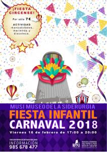 Fiesta infantil carnaval 2018 en el MUSI @ MUSI | Langreo | Principado de Asturias | España