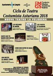 III Festival del monólogo asturiano y entrega de premios del ciclo de teatro costumbrista asturiano @ Nuevo Teatro de La Felguera | Langreo | Principado de Asturias | España