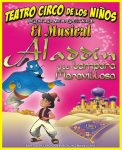 Teatro: Aladdin y la lámpara maravillosa