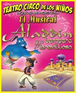 Teatro: Aladdin y la lámpara maravillosa @ Nuevo Teatro de La Felguera | Langreo | Principado de Asturias | España