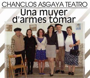 Teatro: Una muyer d'armes tomar @ Nuevo Teatro de La Felguera   Langreo   Principado de Asturias   España