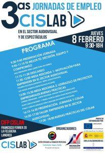 3as. Jornadas de empleo en el sector audiovisual y de espectáculos CISLAB @ CISLAN   Langreo   Principado de Asturias   España