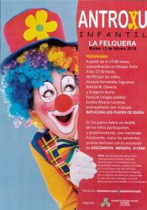Antroxu infantil en La Felguera 2018 @ Colegio Eulalia Álvarez | Langreo | Principado de Asturias | España