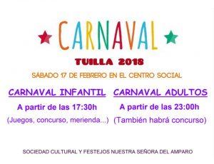 Carnaval en Tuilla 2018 @ Centro Social de Tuilla | Principado de Asturias | España