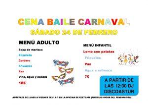 Cena - Baile de Carnaval en Riaño 2018 @ Riaño | Langreo | Principado de Asturias | España