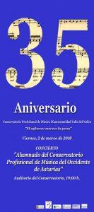 Concierto alumnado el Conservatorio Profesional de Música del Occidente de Asturias @ Conservatorio del Nalón | Langreo | Principado de Asturias | España