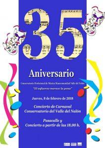 Concierto de carnaval 2018 @ Sama de Langreo | Sama | Principado de Asturias | España