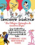Concierto didáctico: Los dibujos animados de nuestros papis