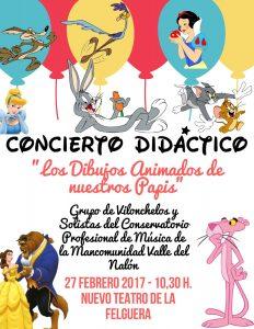Concierto didáctico: Los dibujos animados de nuestros papis @ Nuevo Teatro de La Felguera | Langreo | Principado de Asturias | España