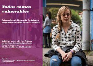 Exposición fotográfica: Todas somos vulnerables @ Casa de la Buelga | Langreo | Principado de Asturias | España