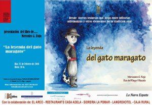 "Presentación de libro: La leyenda del gato maragato @ Centro de Creación Escénica ""Carlos Álvarez-Nòvoa""   Langreo   Principado de Asturias   España"