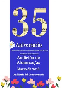 Audición de alumnos del Conservatorio del Nalón @ Conservatorio del Nalón | Langreo | Principado de Asturias | España