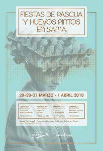 Fiestas de Pascua y Huevos pintos en Sama 2018