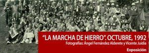 Exposición fotográfica: La marcha de hierro. Octubre, 1992. @ Escuelas Dorado | Langreo | Principado de Asturias | España