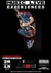 Exposición fotográfica: MusicLive Experiences @ Escuelas Dorado | Langreo | Principado de Asturias | España