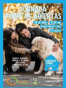 Jornada puertas abiertas albergue canino de Langreo @ Parque Dolores F. Duro   Langreo   España