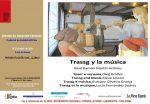 Presentación de libro: Trassg y la música