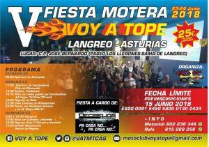 """V Fiesta motera """"Voy a tope"""""""