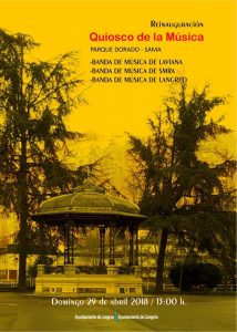 Reinauguración Quiosco del parque Dorado @ Parque Dorado   Langreo   Principado de Asturias   España