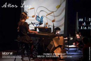 Teatro pa neñ@s: Años luz @ Nuevo Teatro de La Felguera | Langreo | Principado de Asturias | España