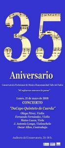 Concierto: DaCapo (quinteto de cuerda) @ Conervatorio del Nalón | Langreo | Principado de Asturias | España