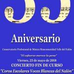 Concierto fin de curso de los Coros Escolares Voces Blancas del Nalón