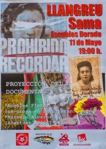 Documental: Prohibido recordar @ Escuelas Dorado | Langreo | Principado de Asturias | España