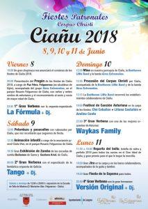 Fiestas del Corpus Christi 2018 en Ciaño @ Ciaño   Ciaño   Principado de Asturias   España