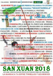 Fiestas de San Juan 2018 - Parque Pinín @ Parque Pinín | Langreo | Principado de Asturias | España