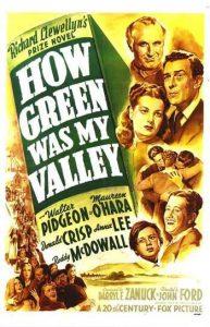 Cine: ¡Qué verde era mi valle! @ Cine Felgueroso | Langreo | Principado de Asturias | España