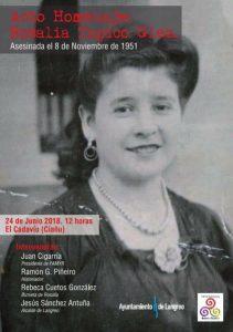 Homenaje a Rosalía Zapico González @ El Cadavíu | El Cadaviu | Principado de Asturias | España