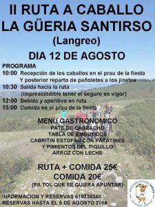 II Ruta a caballo La Güeria San Tirso (Langreo) @ La Güeria San Tirso | San Tirso | Principado de Asturias | España
