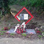 Monolito en memoria de Rosalía Zapico