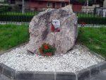 Monolito en homenaje a los represaliados por el franquismo en Frieres