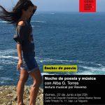 Noche de música y poesía con Alba García Torres