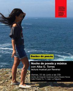 Noche de música y poesía con Alba García Torres @ Centro de Creación Escénica Carlos Álvarez-Nòvoa | Langreo | Principado de Asturias | España