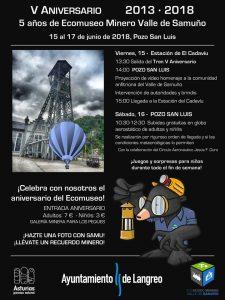 V Aniversaro del Ecomuseo Minero del Valle del Samuño @ Ecomuseo Minero del Valle del Samuño | El Cadaviu | Principado de Asturias | España