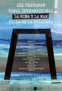 XIX Certamen Coral Internacional La Mina y La Mar villa de La Felguera @ Nuevo Teatro de La Felguera | Langreo | Principado de Asturias | España