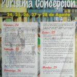 Fiestas de la Purísima Concepción en Barros 2018