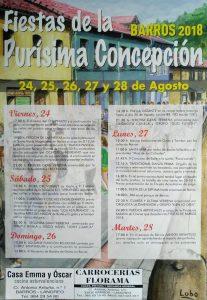 Fiestas de la Purísima Concepción en Barros 2018 @ Barros | Barros | Principado de Asturias | España