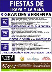 Fiestas de Trapa y La Vega 2018 @ La Vega | Langreo | Principado de Asturias | España