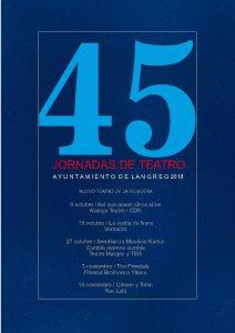 45º jornadas de teatro de Langreo