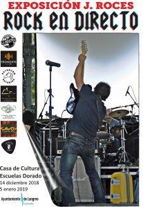 Exposición: Rock en directo @ Escuelas Dorado | Langreo | Principado de Asturias | España