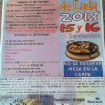 Fiestas en Les Teyeres de Lada 2018
